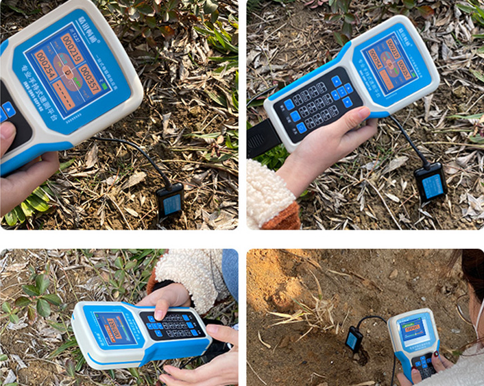 Hand-held soil detector