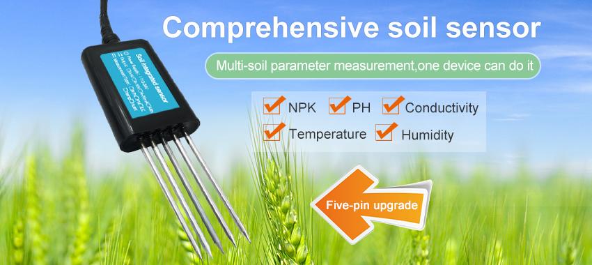 Soil integrated sensor
