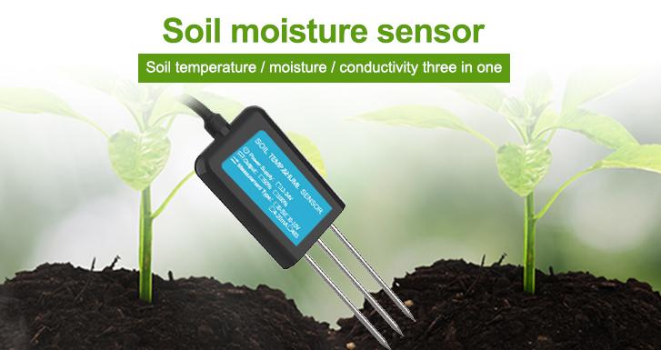 Soil temperature sensors